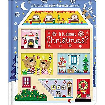 Board Book Is It Almost Christmas? [Board book]