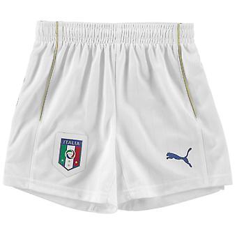 Puma Kids Italy Home Shorts Junior Boys