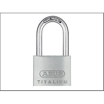 Abus 64ti/40hb40 Titalium Padlock 40mm X 40mm Long Shackle Carded