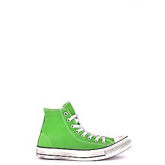 النسيج الأخضر العكس مرحبا أعلى أحذية رياضية