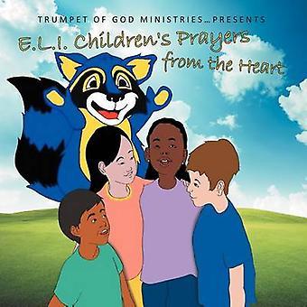 神ミニストリーのトランペットによって心から子供の祈りを E.L.I.
