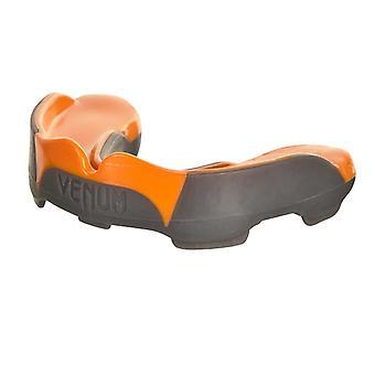 Predator van Venum MMA boksen sport volwassen bitje met Case - grijs/oranje