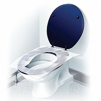 10 hygienic covers for water. (Toilet Seat Cover)
