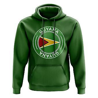 Guyana Football Badge Hoodie (Green)