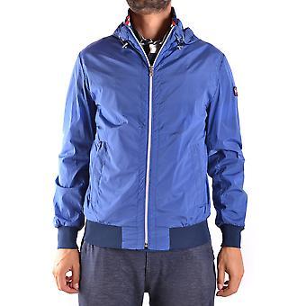 Paul & Shark Blue Polyester Outerwear Jacket