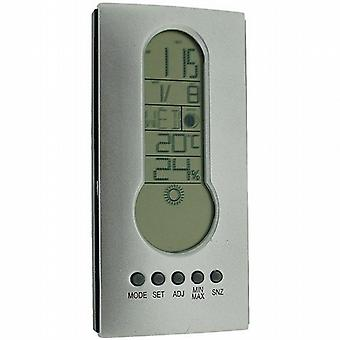 Bioterm Electronic Clock  Calendar  Alarm & Snooze  Weather Forecast Station