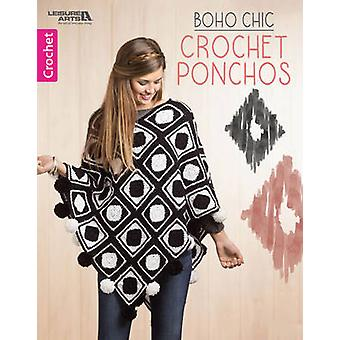 Boho Chic Crochet Ponchos - 9781464754395 Book