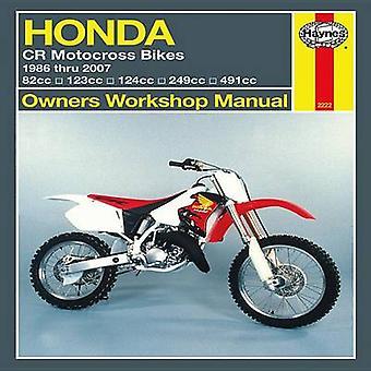 Haynes Honda CR Motocross Bikes Owners Workshop Manual by John H Hayn