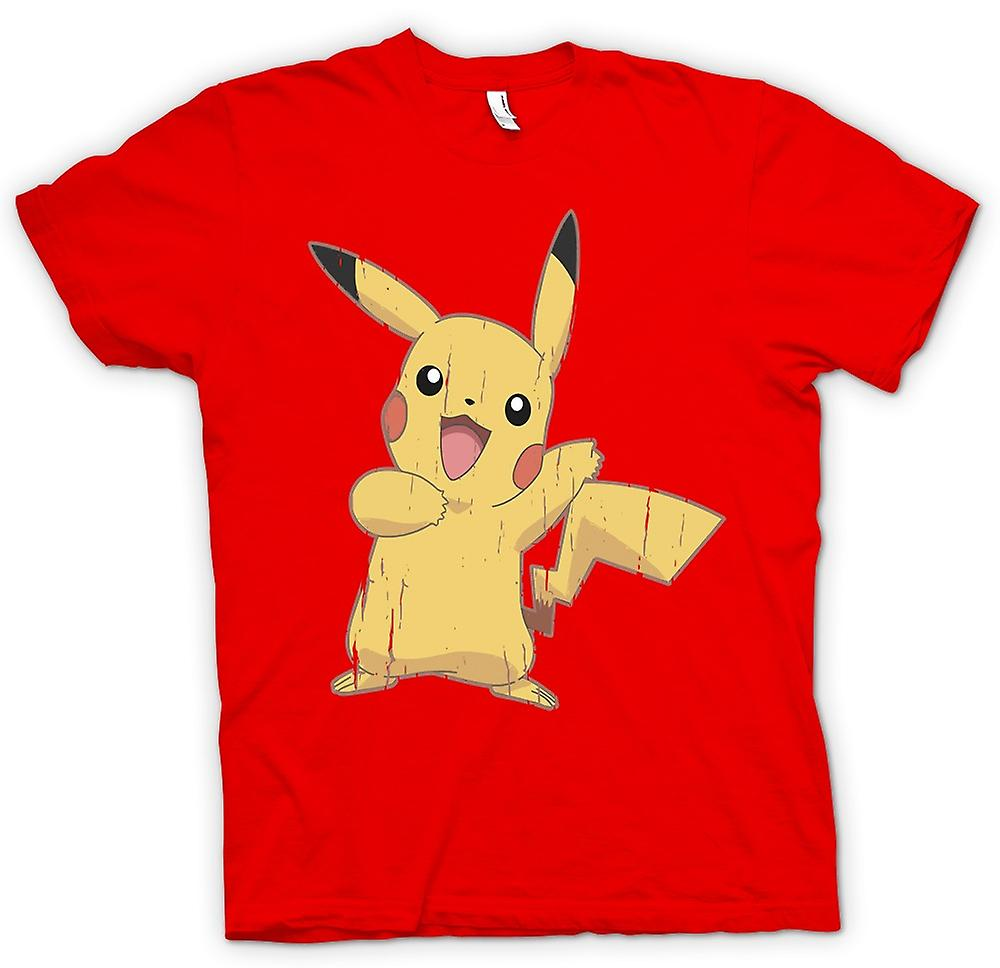 Mens T-shirt - Pikachu - Cool Pokemon Inspired
