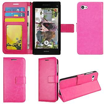 Portefeuille Case Sony Xperia Z1 Compact, 2 cartes et ID