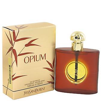 Opium Eau de Parfum Spray (ny emballage) af Yves Saint Laurent 50 ml