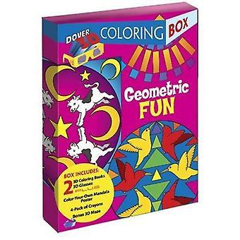 Geometrische Spaß Färbung 3-d-Box