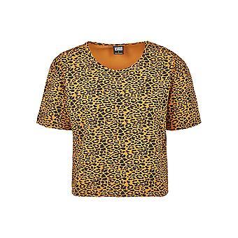 Urban Classics Damen T-Shirt Short Oversized AOP