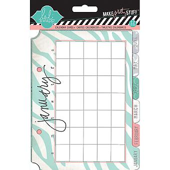 Heidi Swapp Mixed Media Calendar Cards 5