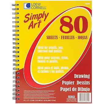 Simply Art Drawing Paper Pad 9