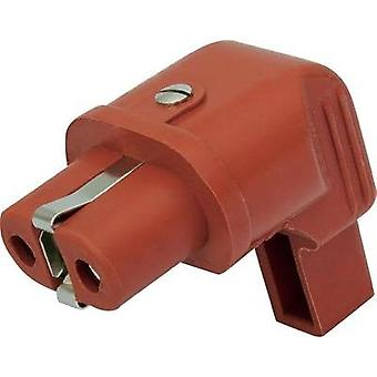 IEC connector Series (mains connectors) 344 Socket, right angle