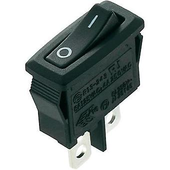Toggle switch 250 Vac 4 A 1 x Off/(On) SCI R13-243F-02 momentary 1 pc(s)