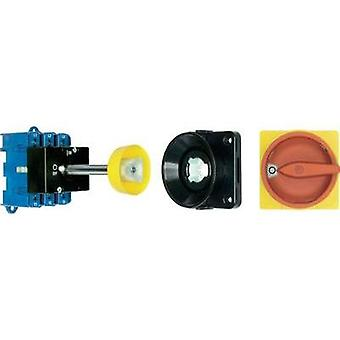 Isolator switch + door interlock 25 A 1 x 90 ° Red, Yellow Kraus & Naimer KG20B T203/09 VE 1 pc(s)