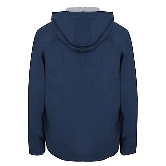 BadRhino Blue Cotton Hooded Jacket