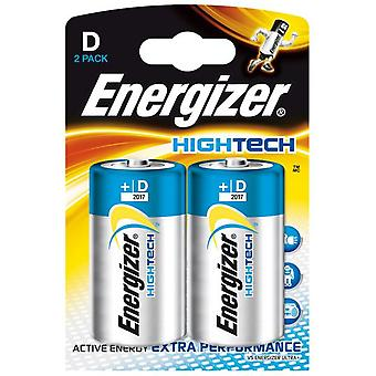 Energizer High Tech LR20 (D) 2 units