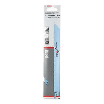 Bosch 2608656019 Flex Metal Uni-Shank 5 Pack