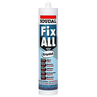 Soudal fix-all crystal 290 ml