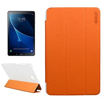 ENKAY smart cover Orange for Samsung Galaxy tab A 10.1 T580 / T585 2016 bag sleeve case