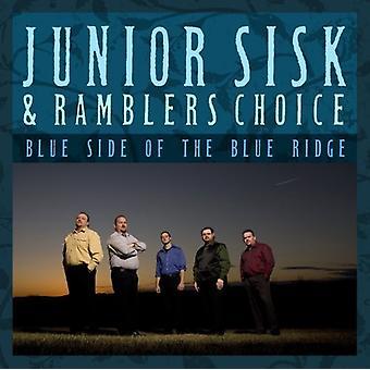Junior Sisk & Vandrelaug valg - blå Side af Blue Ridge [CD] USA importen