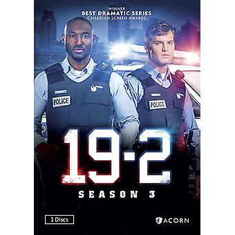 19-2: Season 3 [DVD] USA import