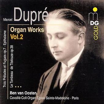 M. Dupre - Marcel Dupr: Trabajos del órgano, importación USA Vol. 2 [CD]