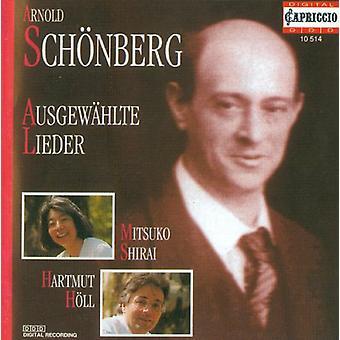 A. Schoenberg - Sch Nberg: Ausgew Hlte Lieder [CD] USA import