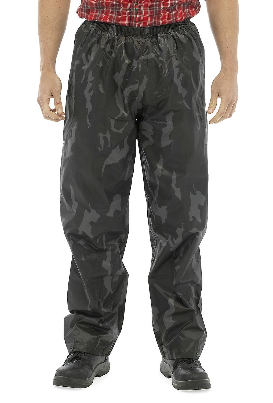 Mens Storm Ridge Long Durable Elasticated Outdoor Waterproof Trousers