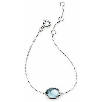 925 Silver Glass Bracelet