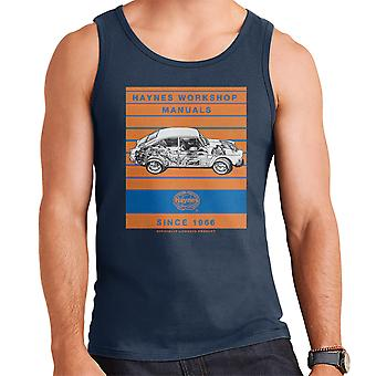 Haynes Workshop Manual 0084 VW 1600 Fastback Stripe Men's Vest