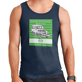 Haynes Workshop Manual 0313 Toyota Landcruiser Stripe Men's Vest