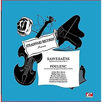 Glanz, Harry / Smith / Sklar / Pulis - Saint-Saens: Septet in E-Flat Major Op.65 [CD] USA import