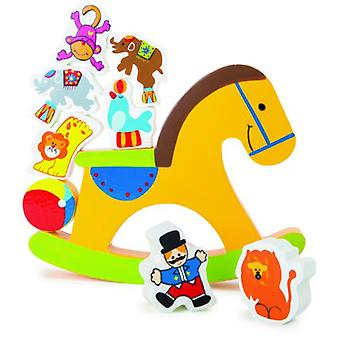 Legler Horse Seesaw Balancing (Home , Babies and Children , Toys , Jumpers and Stilts)