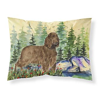 Carolines Treasures  SS8131PILLOWCASE Field Spaniel Moisture wicking Fabric stan