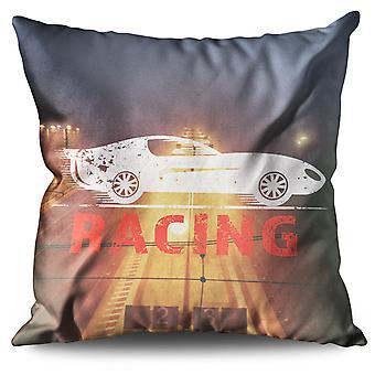 Speed Racing Linen Cushion Speed Racing | Wellcoda