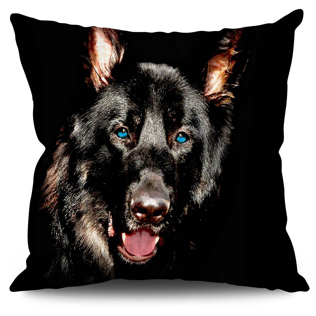 Wild Cushion 30cm Animal Dog Linen XWellcoda 76bgyf