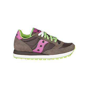 Saucony Damen 1044426 Multicolour Wildleder Sneakers