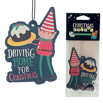 Christmas Elf Christmas Cake Scented Air Freshener