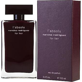 Narciso Rodriguez L'Absolu For Her By Narciso Rodriguez Eau De Parfum Spray 3.3 Oz