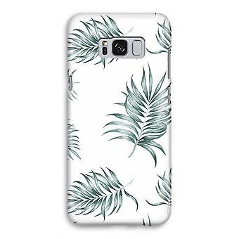 Samsung Galaxy S8 Full Print Case - Simple leaves