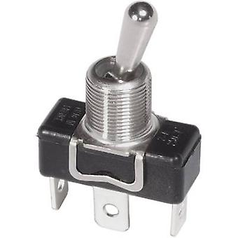 Toggle switch 250 Vac 3 A 1 x On/Off/On APEM 1019