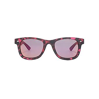 Polaroid Retro Sunglasses In Fuchsia Havana Polarised