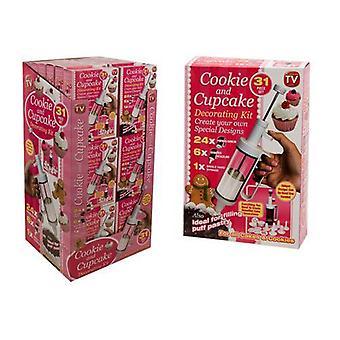 31pc Cookie en Cake versieren Set