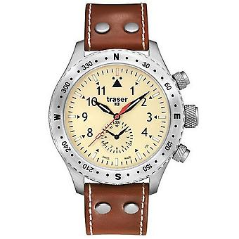 Traser H3 watch Aviator Jungmeister watch T5302. H5H. 4 P. 18 / 100190