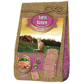 Farm Nature Pienso for cats of chicken with Apple and pumpkin (cats, food, I think)