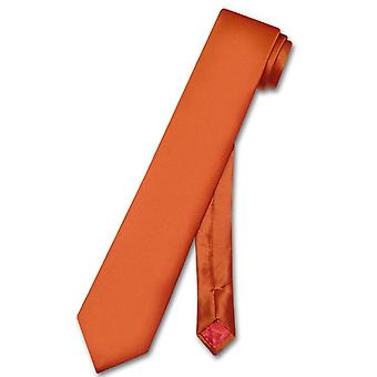 "Biagio 100% siden smal halsduk smal mäns 2,5 ""hals slips"